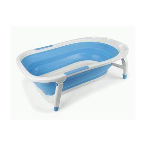 Bañera Bebé Plegable Azul-opt