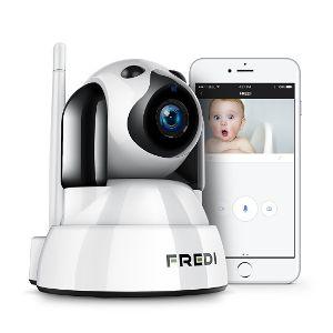 FREDI Baby Monitor IP WiFi P2P Cámara de Vigilancia-opt