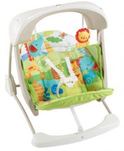 Fisher-Price - Columpio Hamaca Portable 2 en 1-opt