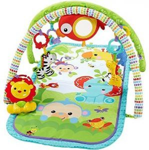 Fisher-Price Gimnasio Musical Animalitos de la Selva-opt