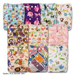 LittleBloom Bebé Pañales Lavables Pañal Reutilizable Insertos-opt