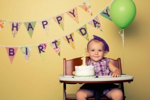 Tips para celebrar el primer cumpleaños de tu bebé especial y diferente