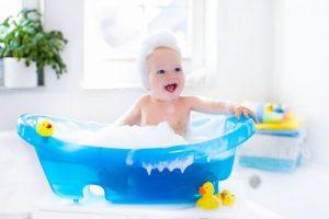 Consejos de seguridad para el baño de los niños